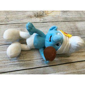 "Vanity Smurf Stuffed Toy Animal Plush 9"" Figure"
